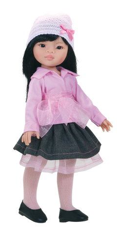 Realistická panenka Niu od f. Paola Reina ze Španělska (Doprava od 35 Kč)