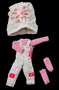 Oblečení pro panenky Biggers od firmy Berjuan ze Španělska
