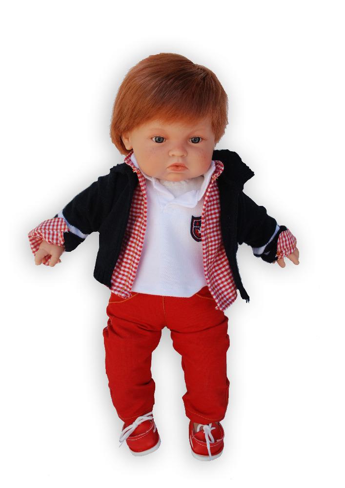 Realistická panenka chlapeček Tommy od firmy ENDISA ze Španělska (Doprava zdarma)