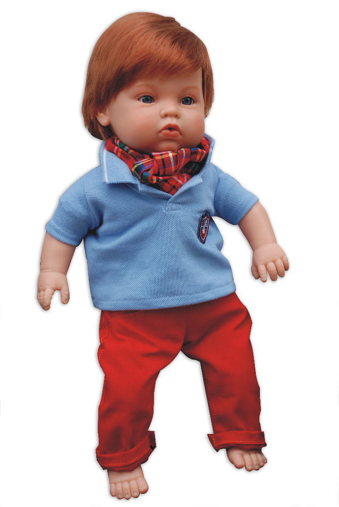 Realistická panenka chlapeček Luis od firmy ENDISA ze Španělska (Doprava zdarma)