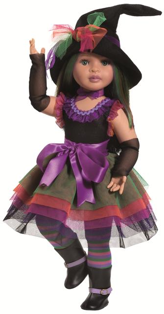 Realistická kloubová panenka Čarodějka od firmy Paola Reina ze Španělska (Doprava zdarma)