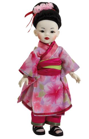 """Realistická panenka """"bílá"""" Geisha od Paola Reina ze Španělska (Doprava zdarma)"""