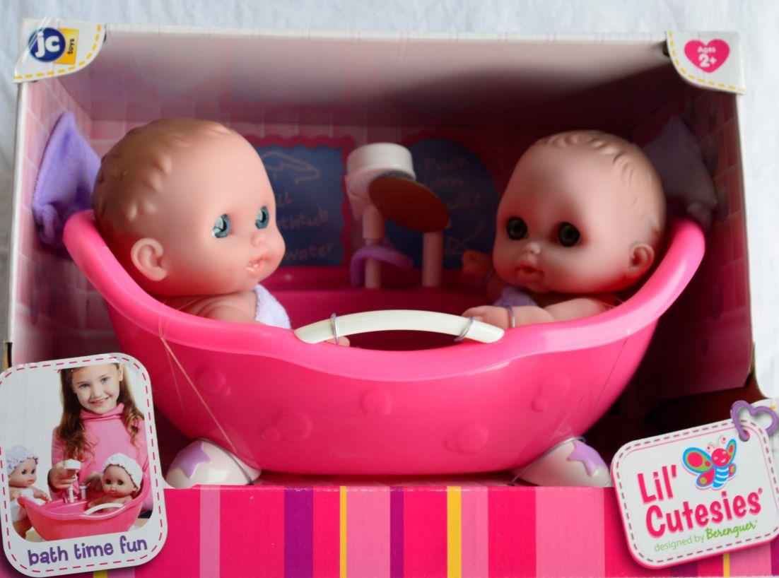 Abbi a IIbbi ve vaně - panenky od firmy JC Toys ze Španělska (Lil´Cutesies)