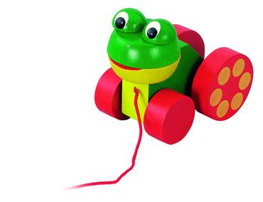 DETOA žabka tahací (Dřevěné hračky )