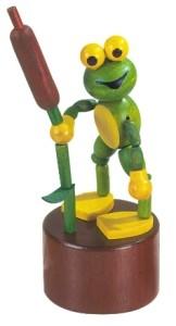 DETOA mačkací figurka žabák