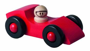 DETOA dřevěné autíčko červené (Dřevěné hračky )