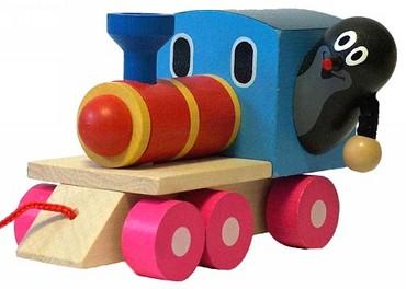 DETOA Krtek a mašinka (Dřevěné hračky )