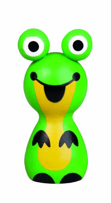 DETOA Žabka magnet (Dřevěné hračky )