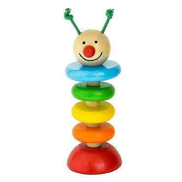 DETOA - housenka na gumě (Dřevěné hračky )