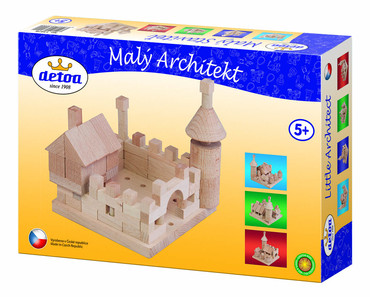 DETOA stavebnice Malý architekt (Dřevěné hračky )