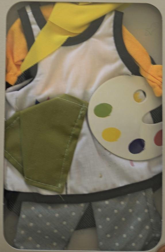 Obleček na malířku Cristi