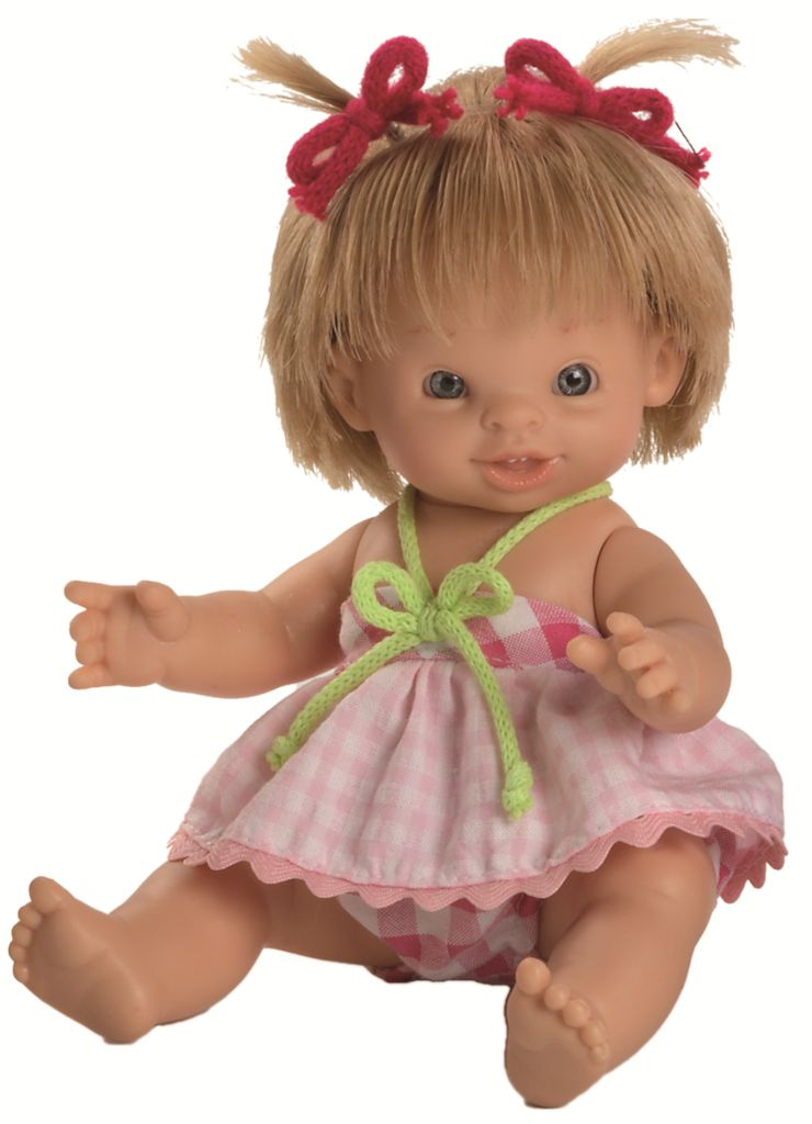 Realistická panenka Paolita Hilda od firmy Paola Reina ze Španělska