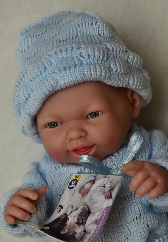 Realistické mini miminko - chlapeček Karlík (Doprava od 35 Kč)