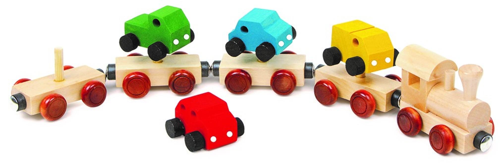 Vlak s auty - malý