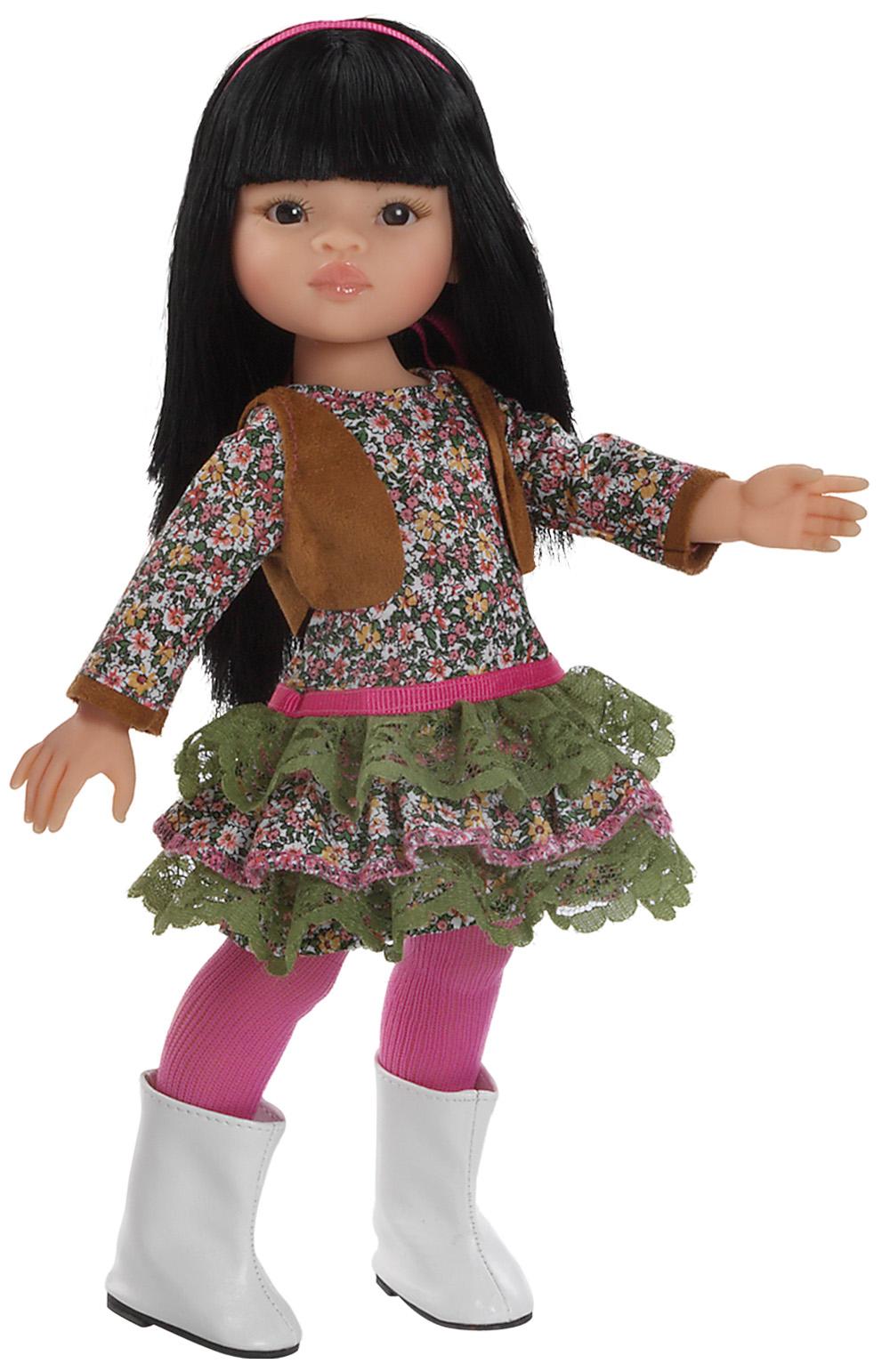 Realistická panenka Liu od f. Paola Reina ze Španělska (Doprava od 35 Kč)