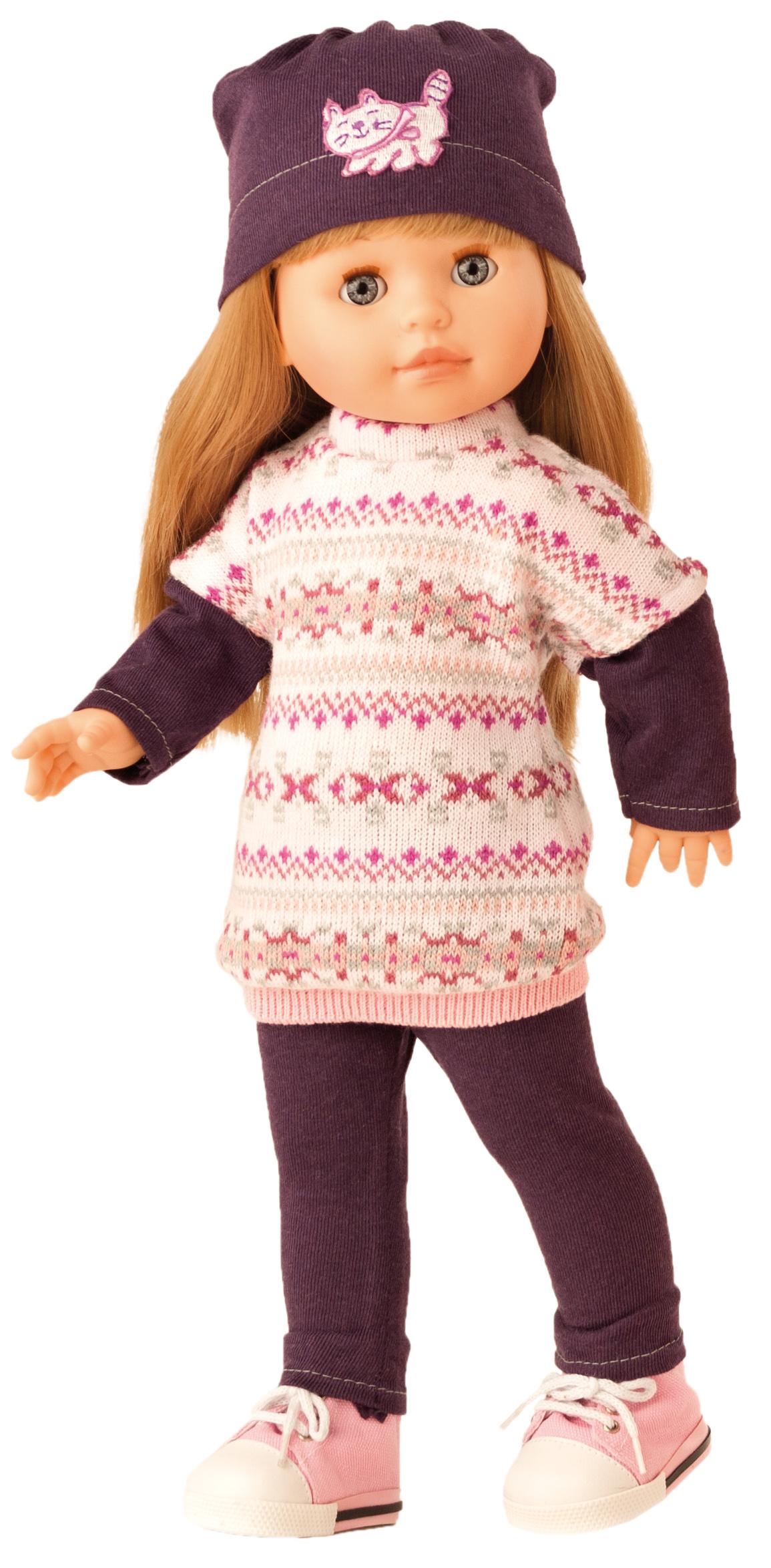 Realistická panenka Emma v zimním oblečení (Doprava zdarma)