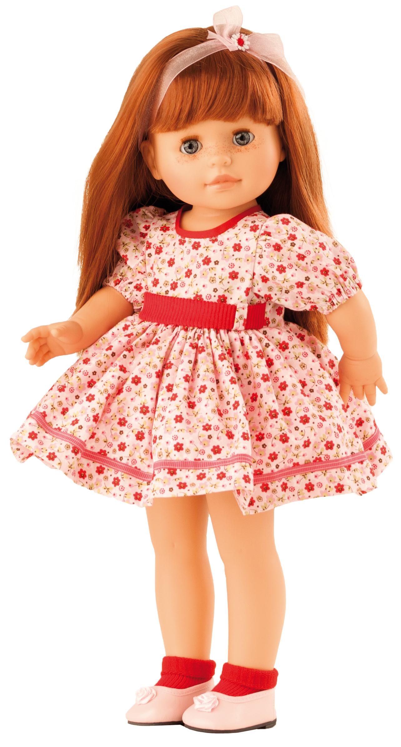 Realistická panenka Becca v letních šatech