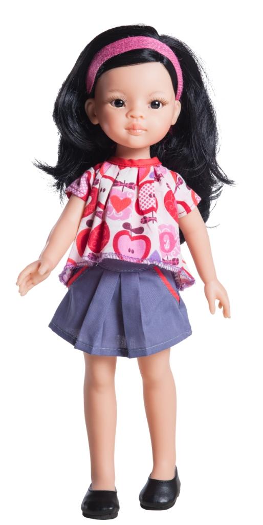 Paola Reina, Amigas, realistická, Wun, asiatka, vinyl, panenka, jako živá, holčička, ze španělska, živá, španělská, krásná, 32, cm, 4507, doprava,