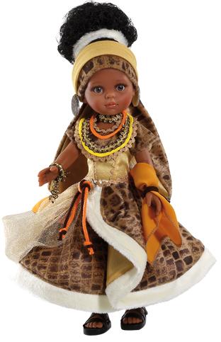 Realistická panenka Nora Africana od f. Paola Reina ze Španělska
