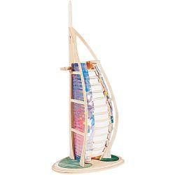 Dřevěné skládačky 3D puzzle slavné budovy - Burj Al Arab