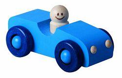 DETOA dřevěné autíčko modré (Dřevěné hračky )