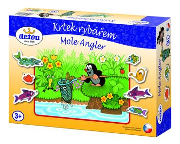 DETOA - Krtek rybářem (Dřevěné hračky )