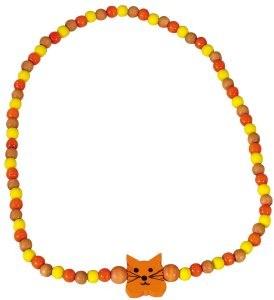 DETOA - dětský náhrdelník kočka