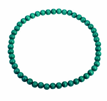 DETOA - náhrdelník tyrkysový (Dřevěná bižuterie)
