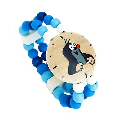 Fotografie DETOA - hodinky s Krtkem - modré