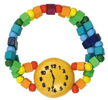 Fotografie DETOA - dětský náramek hodinky duhové