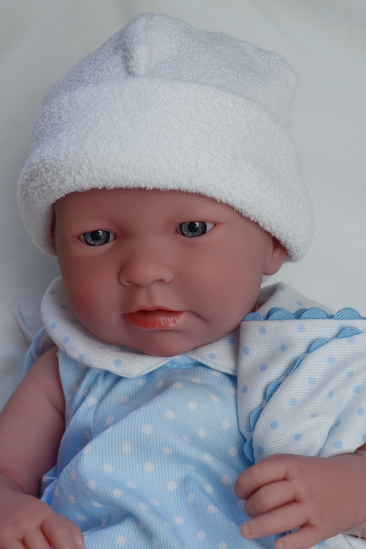 Realistické miminko - chlapeček Adrián od firmy Berenguer (Doprava zdarma)