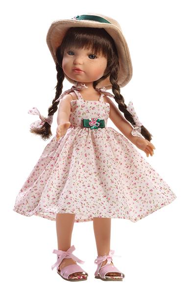 Realistická panenka - holčička Marcela od firmy Berjuan (Doprava zdarma)