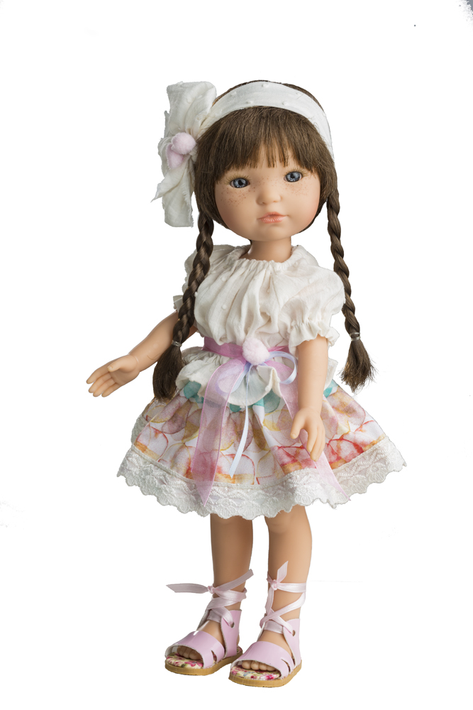 Fotografie Realistická panenka - holčička Marcela od firmy Berjuan