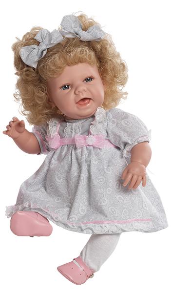 Realistická panenka Dobromila od firmy Berjuan ze Španělska