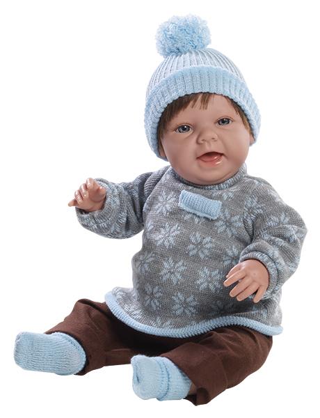 Realistická panenka chlapeček Čestmír od firmy Berjuan ze Španělska (Doprava zdarma)
