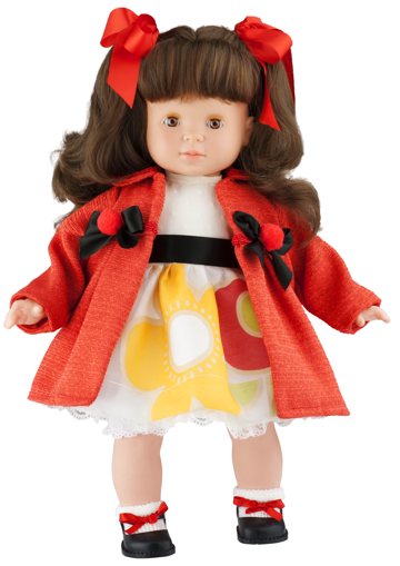 Realistická panenka holčička Blanca - tmavé vlásky od f. Berjuan ze Španělska (Doprava zdarma)