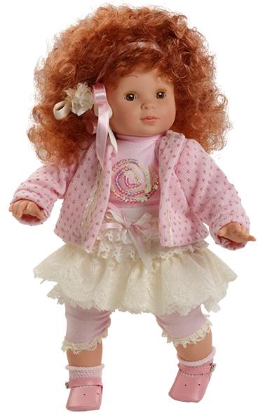 Realistická panenka holčička Blanca- zrzavé vlásky od f. Berjuan ze Španělska