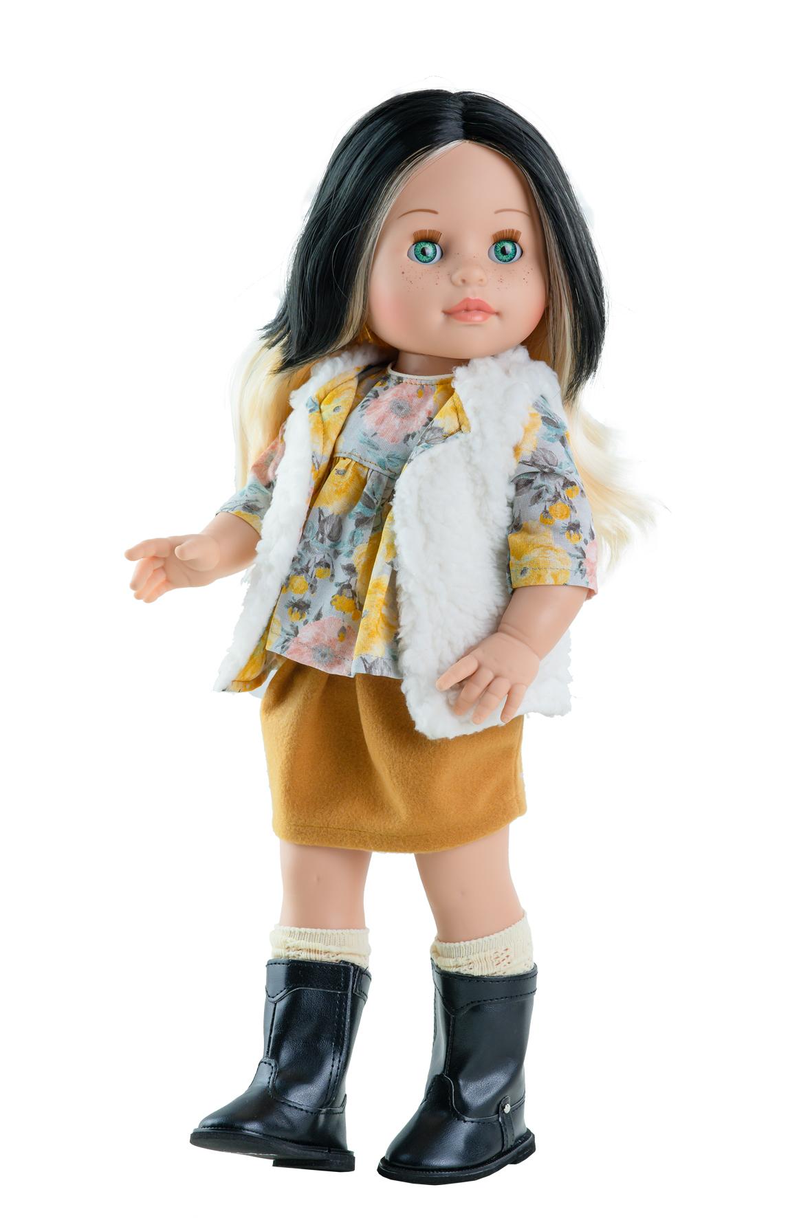 Realistická panenka Bianca v kožíšku od f. Paola Reina