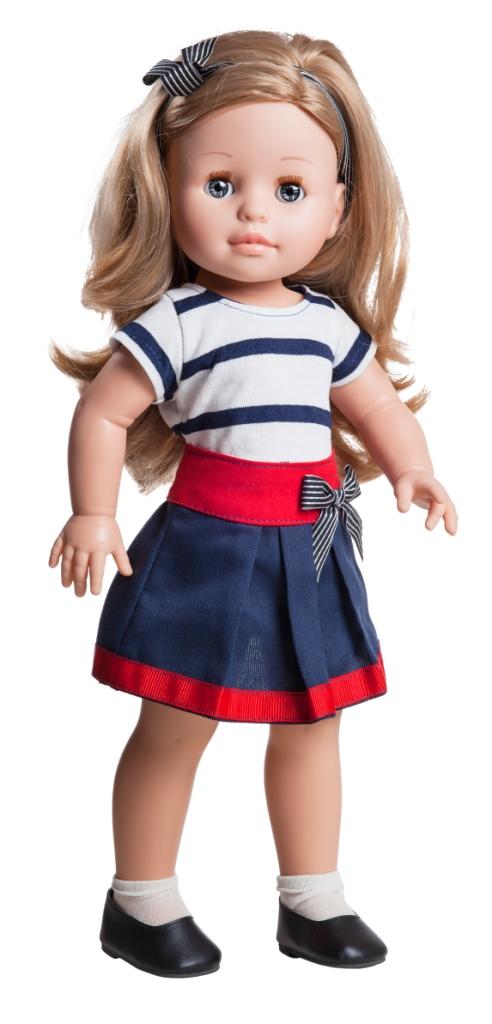 Realistická panenka Emma v pruhovaném tričku od f. Paola Reina