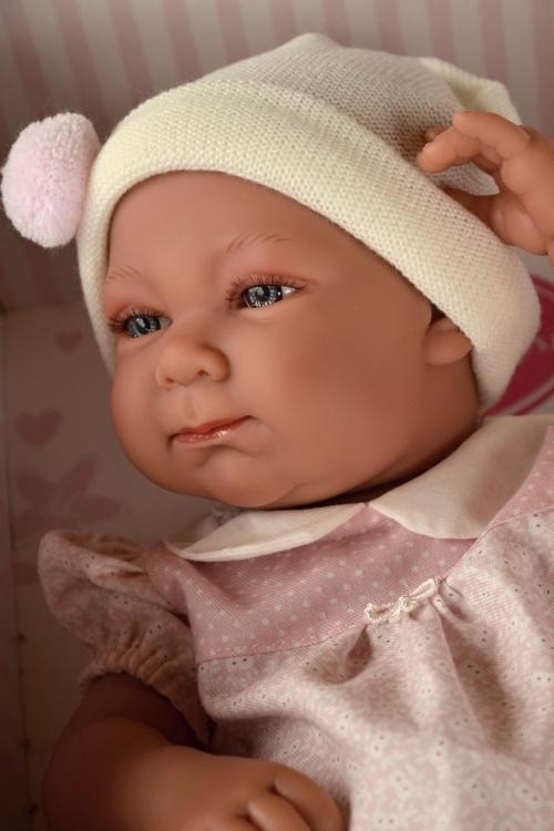 Realistické miminko - holčička Olivia od Antonio Juan (Doprava zdarma)