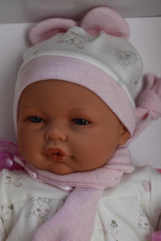 Realistické miminko - holčička - Bimba Pelele od Antonio Juan