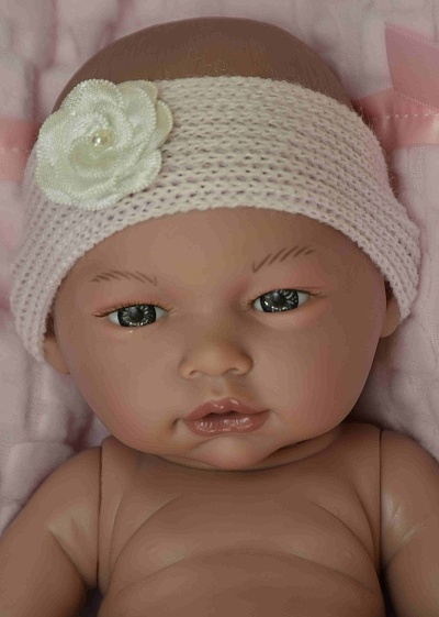 Realistické miminko holčička Laděnka od firmy Guca ze Španělska (Doprava od 35 Kč)