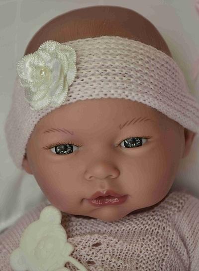 Realistické miminko - holčička Bětuška od firmy Guca ze Španělska (Doprava zdarma)