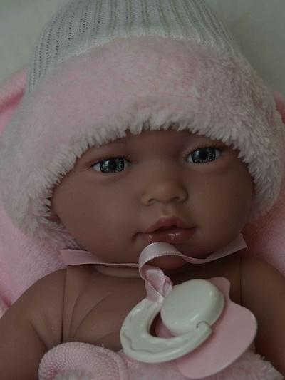 Realistické miminko - holčička Květuška od firmy Guca ze Španělska (Doprava zdarma)