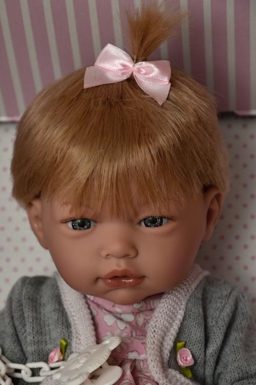Realistické miminko - holčička - Lenička od firmy Guca ze Španělska (Doprava zdarma)