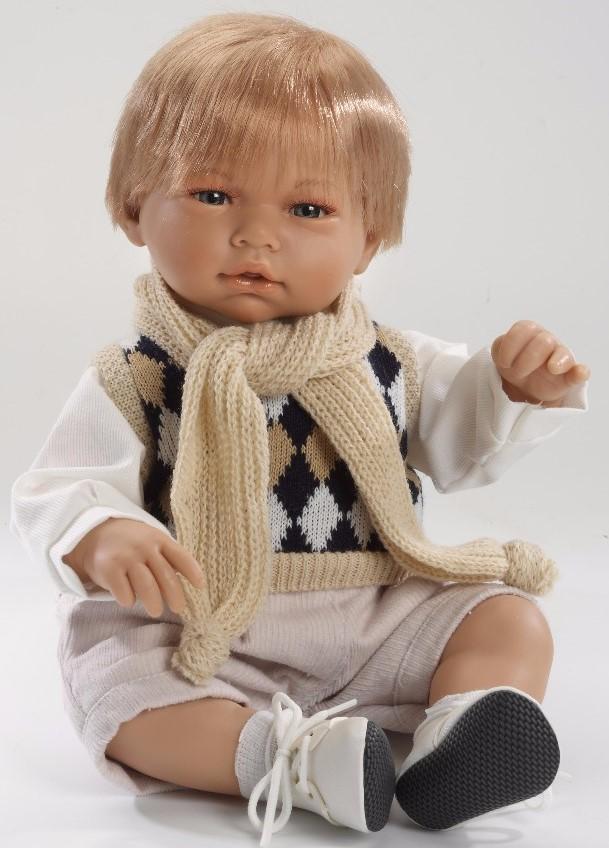 Realistická panenka chlapeček Samuel od firmy Guca ze Španělska (Doprava zdarma)