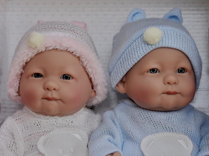 Realistické panenky dvojčátka -Lojzík a Lojzička od firmy Guca ze Španělska (Doprava zdarma)