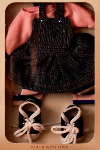 Sada na panenku Rozálii 04503 (Obleček + boty)