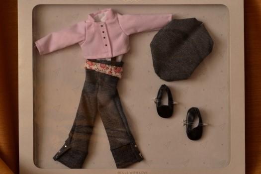 Sada na panenku vesničanku 04610 (Obleček + boty)