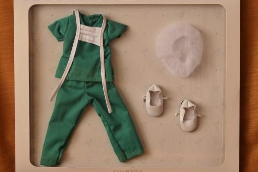 Sada na panenku zdravotní sestřičku 04617 (Obleček + boty)